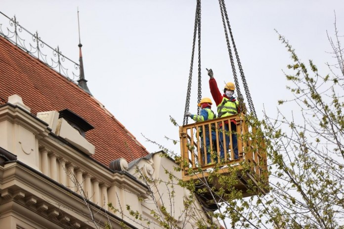 Foto: KATAL MEDIA / Jozo Čabraja; Posljedice potresa u Zagrebu 22.3.2020