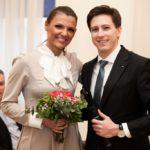 Matija Longin, nacionalni predsjednik JCI Hrvatska i Ana-Maria Gurdulić, predsjednica lokalne komore JCI Zagreb