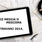 press clipping iz medija o medijima