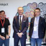 Pete Blackshaw, globalni direktor digitalnog marketinga Nestle SA, Philip Thomas, predsjednik Uprave Cannes Lions festivala, Damir Ciglar, predsjednik Uprave HURA-e, Jan Jilek, predsjednik IAB-a