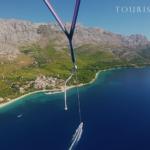 10. Zivogošće, Makarska Rivijera / Ooo, to je bilo zabano. GoPro i padobran.