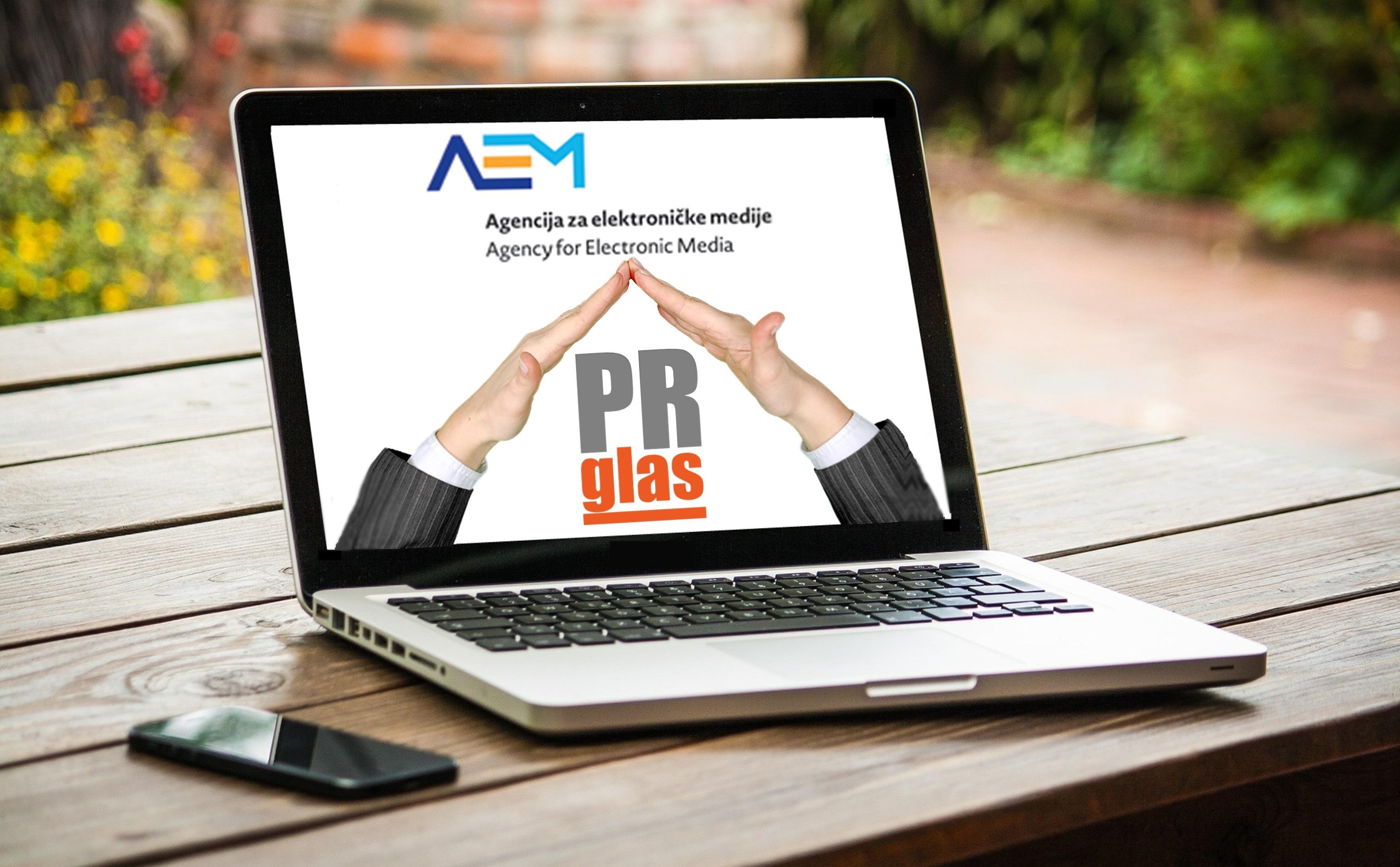 PRglas Agencija za elektronicke medije medij