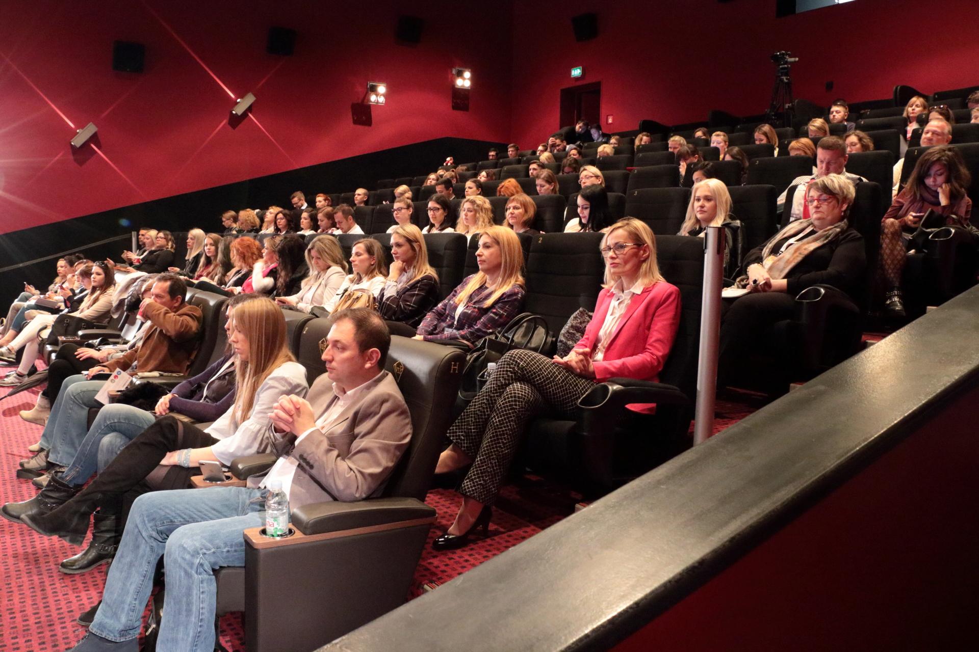 PR pitch konferencija dvorana kino cinestar zagre