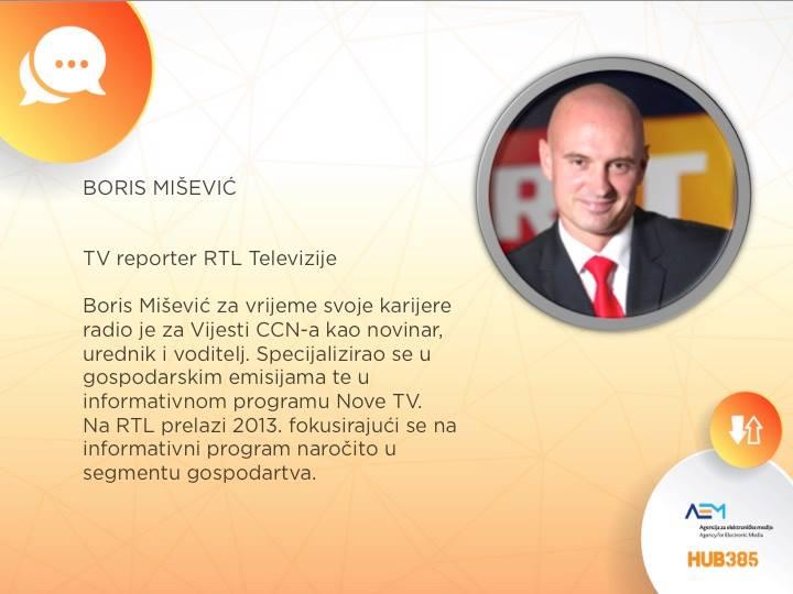 Ulogu moderatora preuzet će Boris Mišević s RTL Televizije!