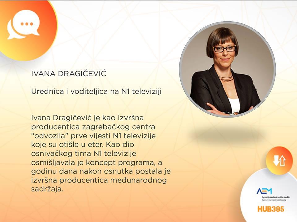 gošća našeg panela je Ivana Dragičević s N1 televizije!