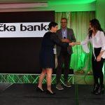 PR Pitch konferencija nagrada zagrebacka banka andrea perkov generalna tajnica talijansko hrvatske gospodarske komore barbara šimunovic studentica