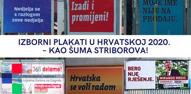 IZBORNI PLAKATI U HRVATSKOJ 2020._Kamilo Antolović _ Mario Fraculj Stalni sudski vještaci za oglašavanje